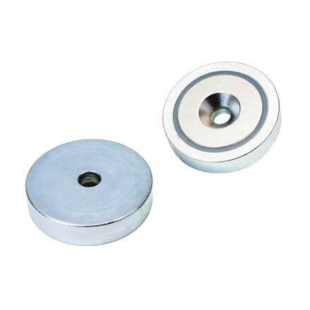 Innkapslet magnet – neodym – boring/forsenket hull