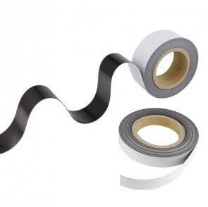 Magnetbånd – hvit
