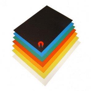 Magnetfolie A4-ark i farger