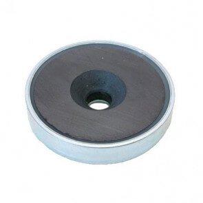 Innkapslet magnet – ferritt – forsenket hull
