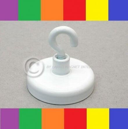Magnetkrog i farvet stål