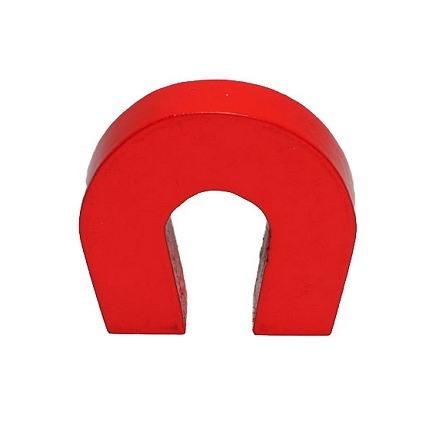 Hestesko Magneter - Rødlakeret