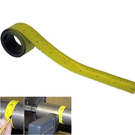 Målebånd 1 meter - fleksibelt
